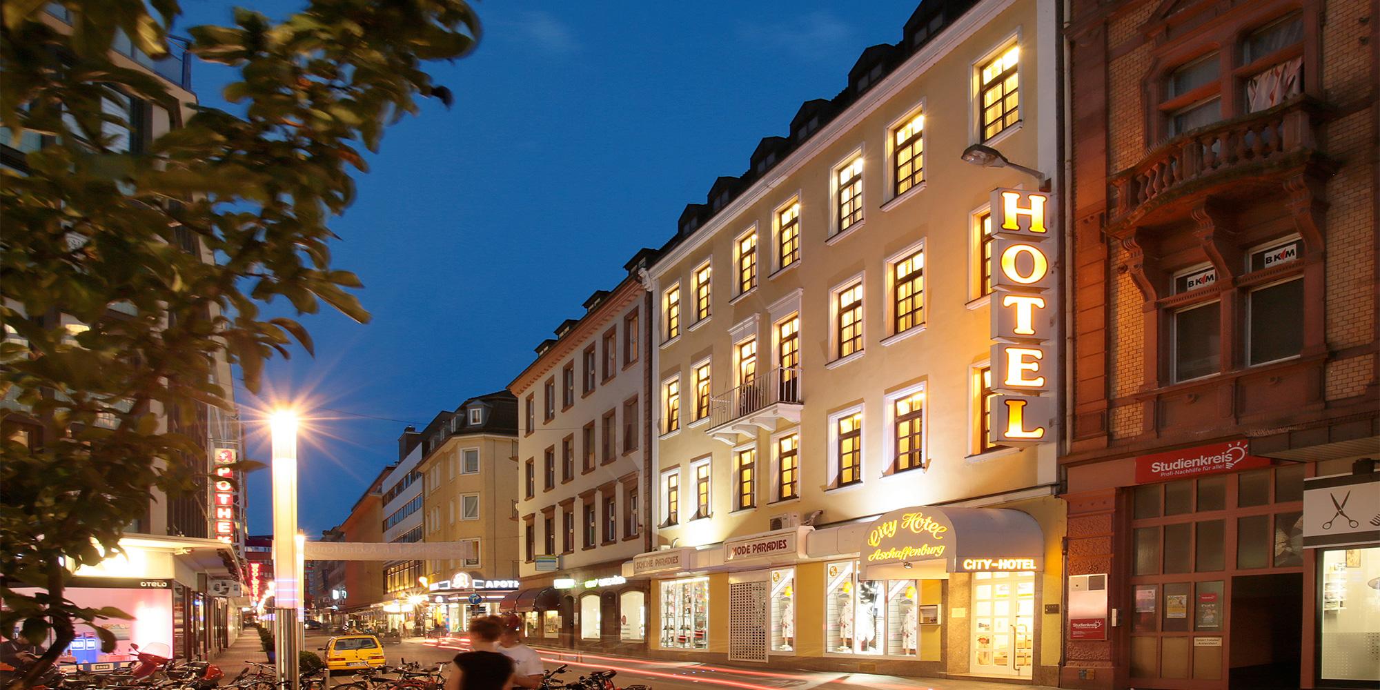 Hotel Aschaffenburg - City-Hotel - Kontakt